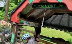 Westport to newport route
