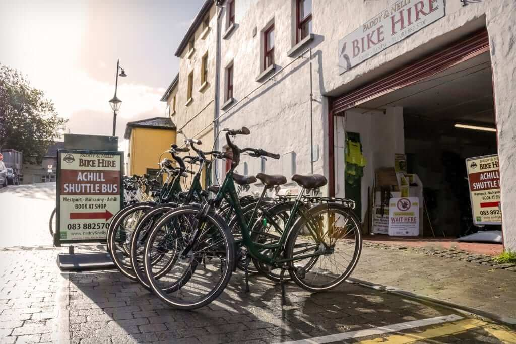 Bike hire shop in Westport